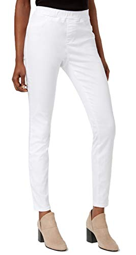 Eileen Fisher Womens Denim Pull On Jegging White Extra Small ()