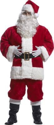 Imperial Red Santa Suit Adult Costume - Large by Rubie's