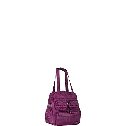 Lug Women's Puddle Jumper Overnight/Gym Duffel Bag, Berry Purple, One Size by Lug