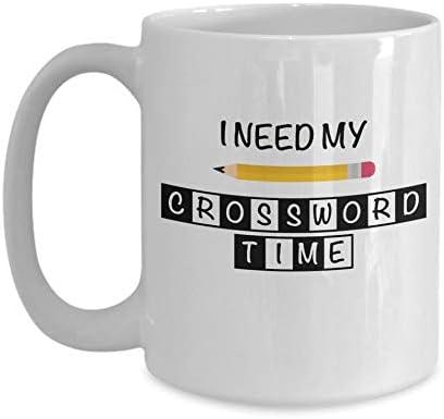 Amazon Com Crossword Puzzle Mug Crossword Lover I Love Crosswords Puzzle Lover Gift Crossword Solver Wordsmith Wordplay Mug Nerdy Gifts Kitchen Dining