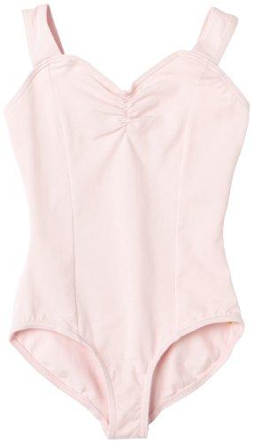 [Capezio Big Girls' Princess Tank Leotard,Pink,L (12-14)] (Dance Studio Costumes Companies)