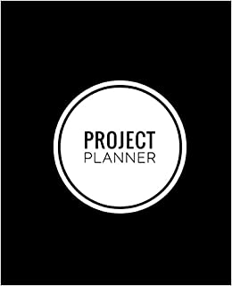 amazon project planner notebook organize notes ideas follow up