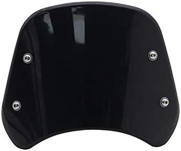 Lopbinte Cupolino Moto Cupolino Cupolino Schermo Parabrezza per Benelli Leoncino 500 Nero