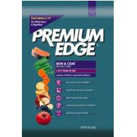 Premium Edge Dry Food for Adult Dogs, Skin and Coat Salmon, Potatoes and Vegetables Formula, 35-Pound Bag