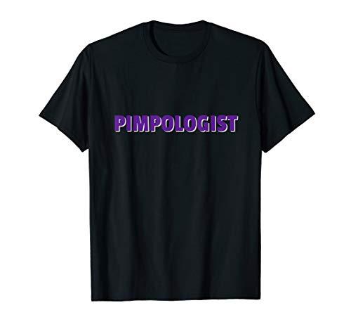 - Pimp Hustle Man Hat For Men Glasses Pimpologist T-Shirt