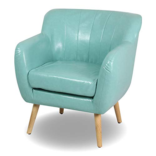 Magshion Guest Mid-Century Modern Living Room Accent Club Chair Single Sofa..., - Chair Guest Wingback