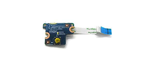 New Genuine HP ProBook 640 645 G1 Series Power Button Board With Cable 6050A2566601 738399-001