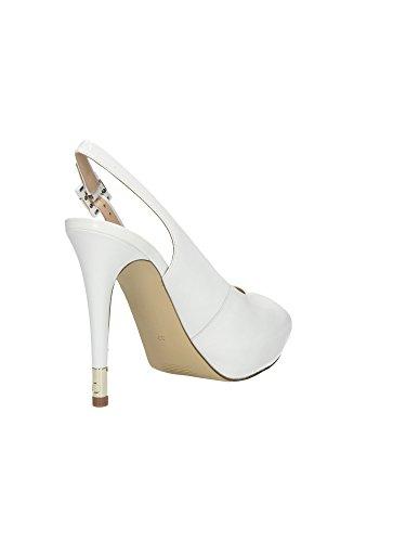 GUESS Señoras Bombas Highheels stilettos Strappy Sandals Plateau White Blanco