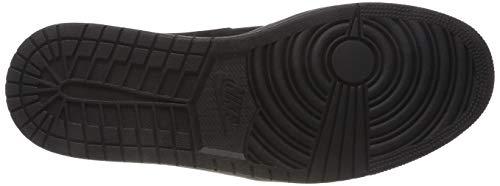 black Para Zapatillas Negro dark Jordan black Hombre Air Nike Grey 050 Altas Mid 1 1HznqYw