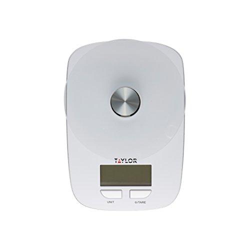 Taylor 384521 Glass Platform Food Kitchen Scale 11 lb / 5 kg