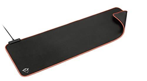Trust GXT 764 Glide-Flex - XXL Alfombrilla de ratón RGB, Color Negro