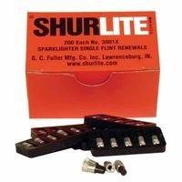 Fu 3001X Flint Renewal 200Flints/Box (40Pkgs), Sold As 1 Package, 5 Each Per Package