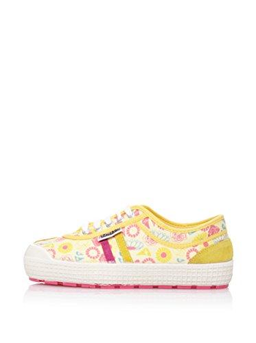 Rosa Scarpe Multicolore Retro Donna Kawasaki amarillo Higher Ginnastica Da Yq81wRpa