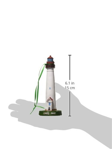 Hampton-Nautical-Y-41649-xmas-Cape-May-Lighthouse-Christmas-Tree-Ornament-6-Unique-Christmas-Ornament-Holiday-Decoration