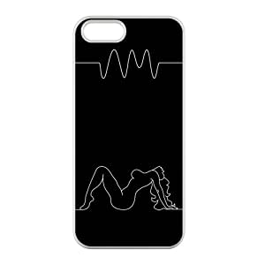 Custom Pop Band The Arctic Monkeys Case Cover Protector Compatible with iPhone 5 5S 100% TPU (Laser Technology)