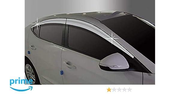 Windows Visor Out-Channel Sun Guard 4pcs fit 2011-2016 Hyundai Elantra GT Wagon
