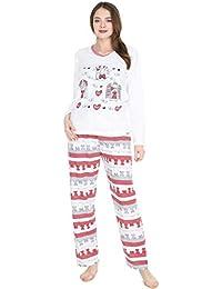 Women's Long Sleeve V-Neck Pajamas Set