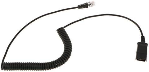 アダプターコンバーターPC電話への便利なヘッドセットケーブルRJ9ジャック