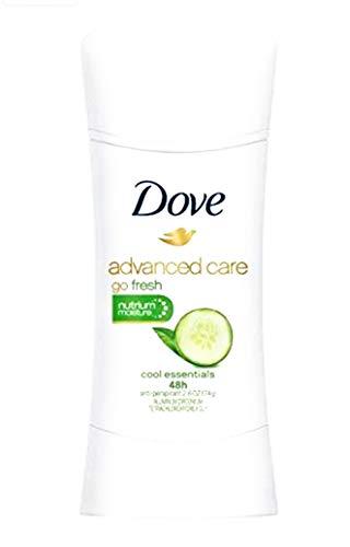 Dove Go Fresh Antiperspirant, Cool Essentials, 2.6 oz, 2 pk - Fresh Go Cucumber Dove