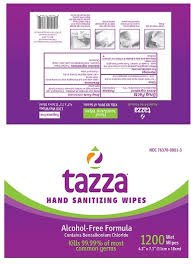 Tazza 1200 Hand Sanitizing Wipes Beauty Amazon Com