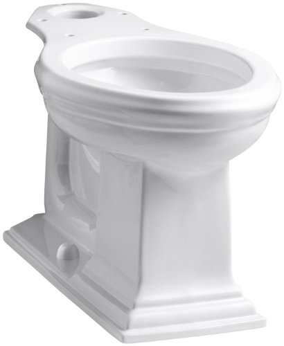 Kohler K-4380-0 Memoirs Comfort Height Elongated Bowl, White