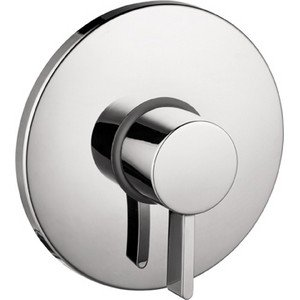 Hansgrohe 04233000 S Pressure Balance Trim, Chrome by Hansgrohe