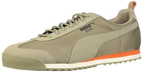 (PUMA Men's Roma FOF Sneaker, Elephant Skin-Firecracker, 7.5 M US)