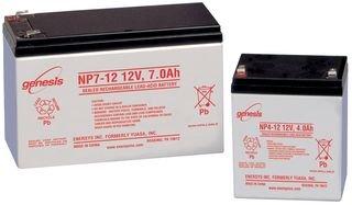 ENERSYS NP2-12 LEAD ACID BATTERY, 12V, 2AH