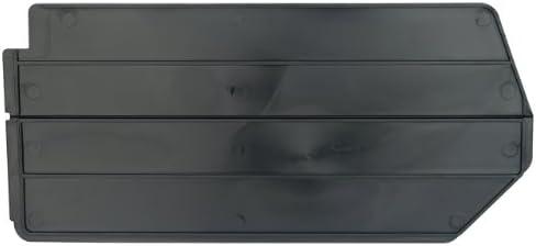 Akro-Mils 40230 Lengthwise Divider for 30230, 30235, and 30255 AkroBin, 6-Pack, Black