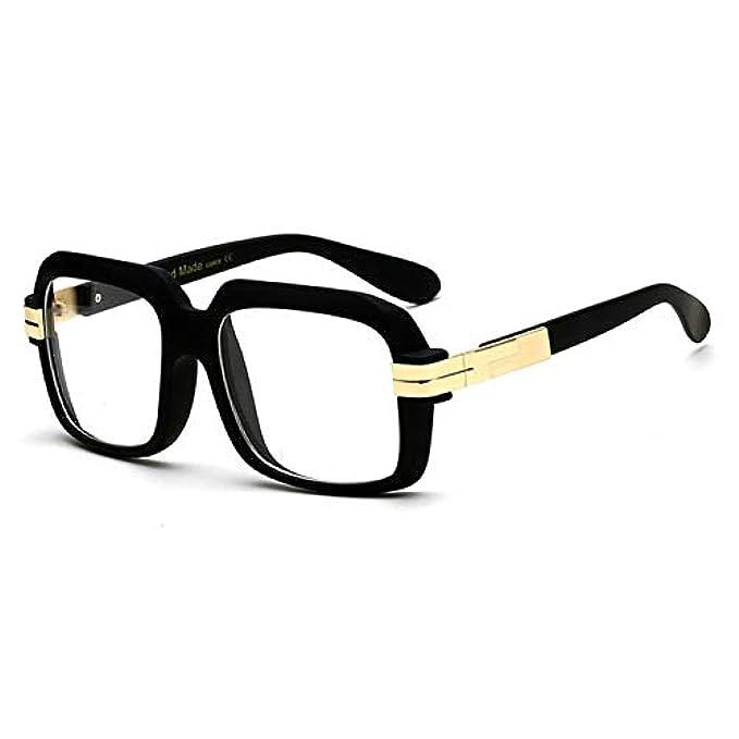 trasparente Da Occhiali Uomo Moda Uv400 Gradiente Quadrati Sole Trasparente Donna Buyaoaq