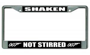 007 license plate frame - 3