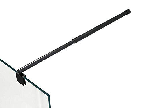 design rotondo nero Barra stabilizzatrice per box doccia