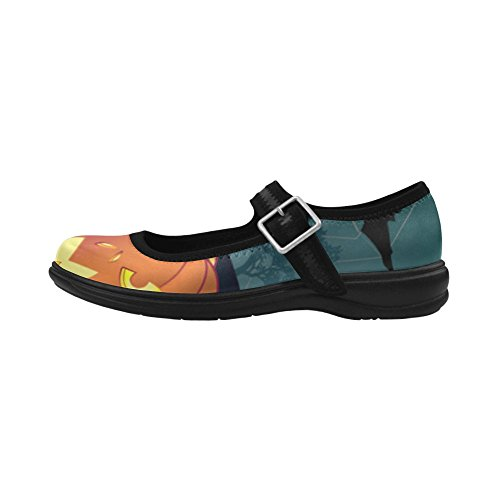 D-Story Custom Womens Instep Deep Mouth Shoes Fashion Flats Multicoloured5 bpklk96E