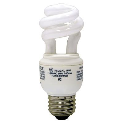 GE Energy Smart 13W CFL Soft White Spiral Bulbs-(10 Pack), Model: 70909