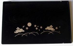 (1 X Japanese Bunny Usagi Plastic Sushi Dinner Plate B #6389 by JapanBargain)