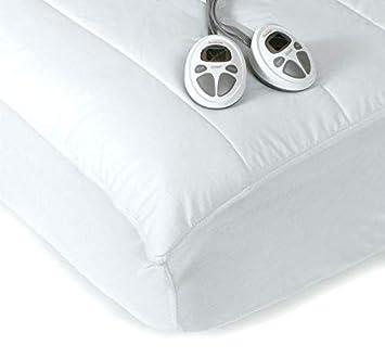 heated mattress pad king dual control Amazon.com: Sunbeam KING Premium Heated Mattress Pad With Dual  heated mattress pad king dual control
