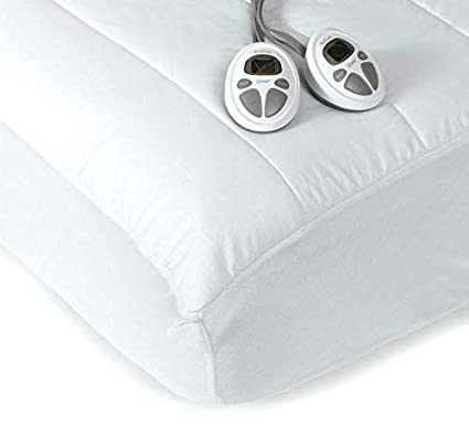 Amazon.com: Sunbeam KING Premium Heated Mattress Pad With Dual Controls: Home \u0026 Kitchen
