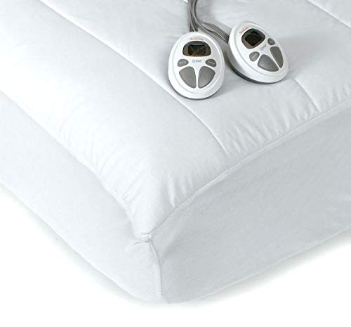 Sunbeam KING Premium Heated Mattress Pad With Dual Controls