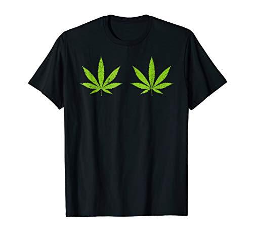 Cannabis Leaf Halloween Costume TShirt -
