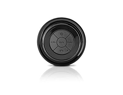 SoundBot SB517 Bluetooth Wireless Portable Speakerphone w/ Level 7 Waterproof,3W Speaker Output,6 hrs Playback time,Built-In Rechargeable Battery,Detachable Suction Cup fo Indoor&Outdoor Use by SoundBot