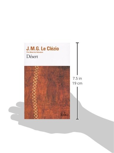Desert Collection Folio 1670 French Edition Jean Marie Gustave