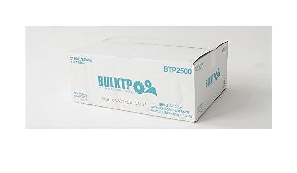 Wholesale Toilet Paper : 1 pallet 72 cases bulktp brand 2500 sheet 1 ply toilet paper 24