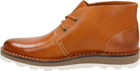 Clarks Mens Darble Mitten Cognac Läder
