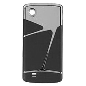 Chocolate Standard Battery - LG VX8575 Chocolate Touch OEM Standard Battery Door Cover, Black and Chrome
