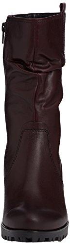 Gabor Taylor - Botas de cuero mujer rojo - Red (Dark Burgundy Leather)