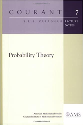 Buy Probability Theory (Courant Lecture Notes) Book Online