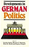 Developments in German Politics, Gordon Smith, Peter H. Merkl, Stephen Padgett, 0822312662