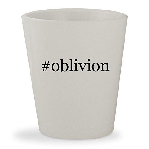 Price comparison product image #oblivion - White Hashtag Ceramic 1.5oz Shot Glass