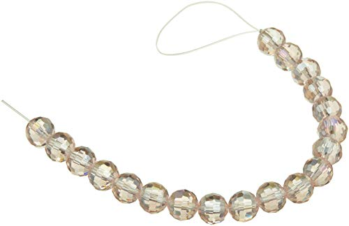 Venezia 1999-4434 Ab Faceted Round Crystal Bead Strand, ()