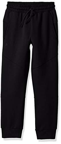 Starter Boys' Double Knit Colorblocked Jogger Sweatpants, Amazon Exclusive, Black, M (Sweatpants Kids Black)